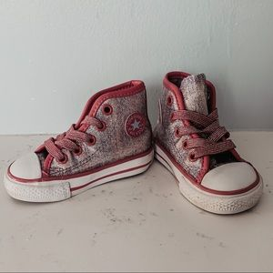 Converse - All Star Hi Top Chuck Taylor Glitter